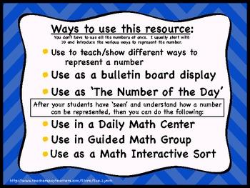 Ways to Make Numbers {Decompose} 10-20 display/center sort math CC standards