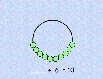 Ways to Make Numbers 3-10 using Number Bracelets - Promethean