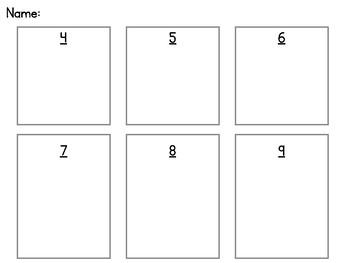 Ways to Make Numbers 4-9