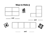Seesaw Ways to Make Numbers 4-9