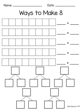 Ways to Make Numbers 5-10