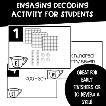 Ways to Make Numbers Activity (Base 10, Expanded, Standard, Word Forms)