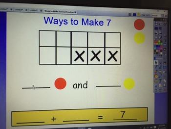 Ways to Make Seven (Ten Frame Activity)