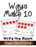 Ways to Make Ten Write the Room