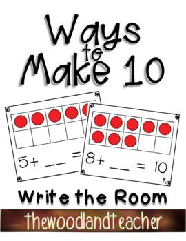 Ways to Make Ten Write the Room