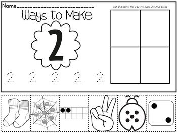 Ways to Make a Number 1-10