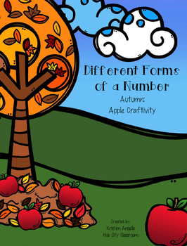 Number Forms- Apple Craftivity