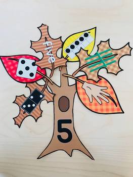 Ways to Make a Number--Fall Tree