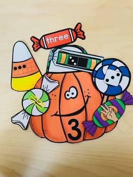 Ways to Make a Number--Pumpkin