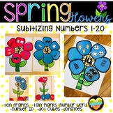 Ways to Make a Number--Spring Flowers