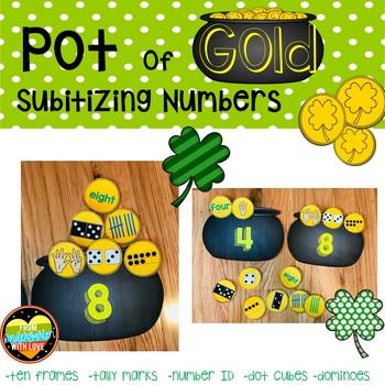 Ways to Make a Number--Subitizing Gold