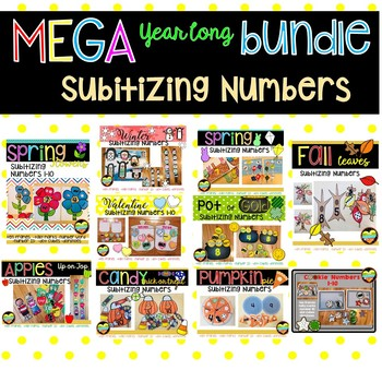 Ways to Make a number---YEARLONG Mega Bundle