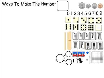 Ways to Make the Number- All About the Number