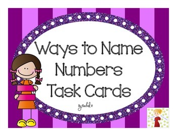 Ways to Name Numbers (In the Hundreds) Task Cards