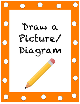 Ways to Problem Solve - Draw a Picture
