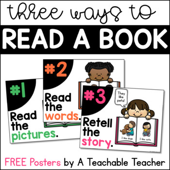 Three Ways to Read a Book Posters