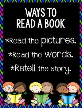 Ways to Read a Book {poster}