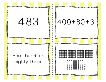 Ways to Write a Number Math Game