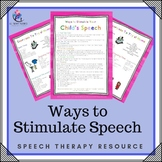 Ways to Respond to Your Child's Speech - Increasing Communication Skills