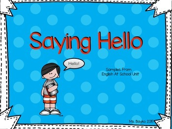 Ways to Say Hello for Newcomers sort