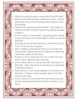 Ways to Share a Book