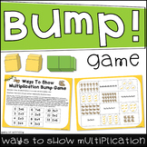 Ways to Show Multiplication Bump Game (Arrays, Groups, Rep