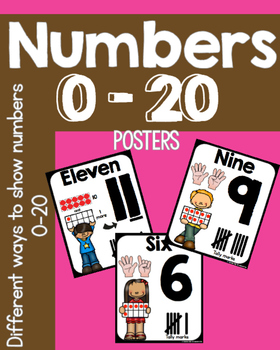 Counting & Cardinality with Numbers 0-20!