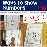 Ways to Show Numbers 1-10