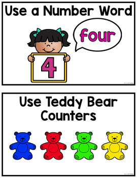 Ways to Show Numbers Mini-Posters