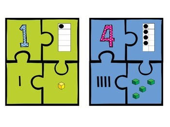 Ways to Show Numbers Puzzles