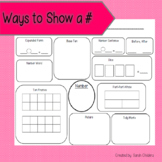 Ways to Show a Number - Mat