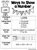 Ways to Show a Number Poster **Freebie**