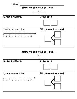 Ways to Solve Adding within ten