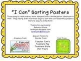 Ways to Sort posters