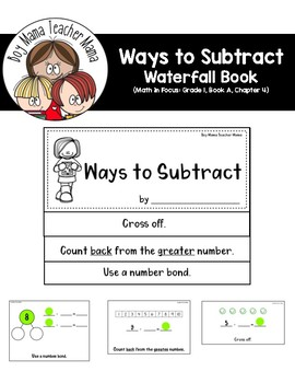 Ways to Subtract Math in Focus