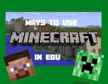 Ways to Use Minecraft in EDU