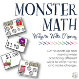 Ways to Write Money: Money Monsters