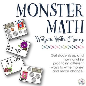 Ways to Write Money: Money Monsters
