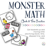 Ways to Write & Practice Time: Clock Monsters