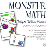 Ways to Write a Fraction: Fraction Friends