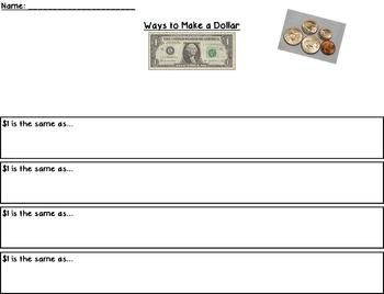 Ways to make a dollar