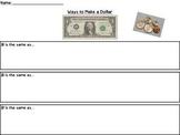 Ways to make a dollar