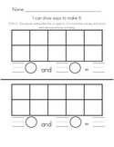 Ways to make numbers 6-9