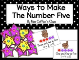 Ways to make the number five