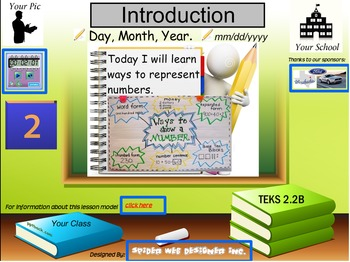 Ways to represent numbers