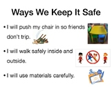 Ways to stay safe in classroom