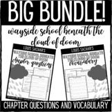 Wayside School Beneath the Cloud of Doom Chapter Questions