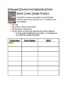 Wayside School Book Cover Design Project