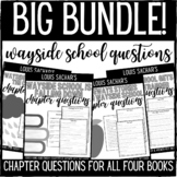 Wayside School Chapter Questions BIG BUNDLE