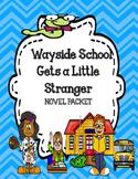 Wayside School Gets a Little Stranger - Novel Study Unit Bundle